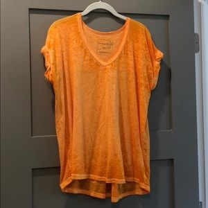 Orange Free People Shirt
